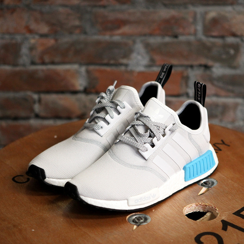 adidas Originals NMD_R1 - WHITE/BLUE