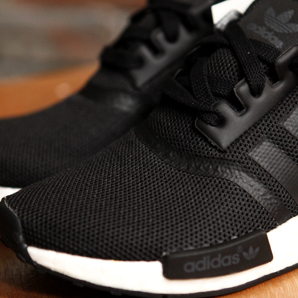 女裝adidas Originals NMD_R1 J - BLACK