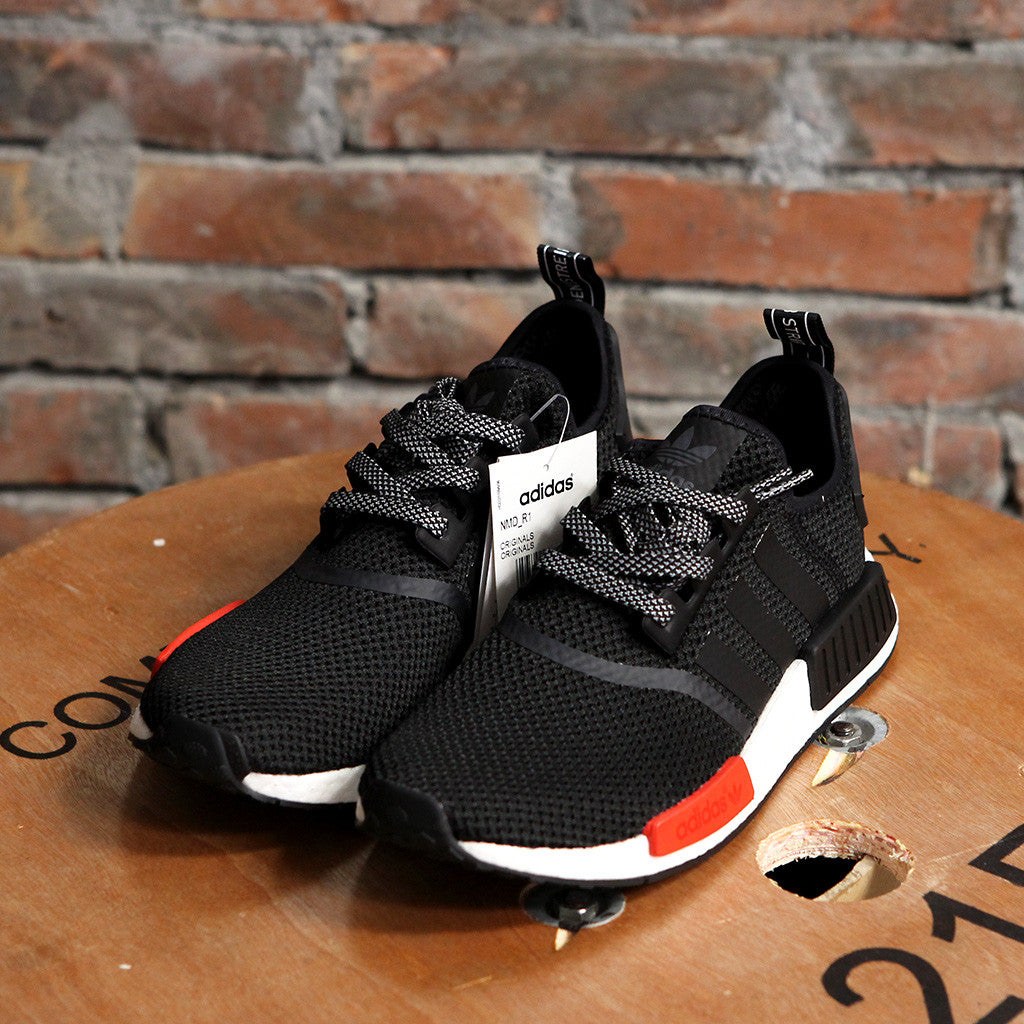 adidas Originals x Footlocker NMD_R1 - BLACK/RED