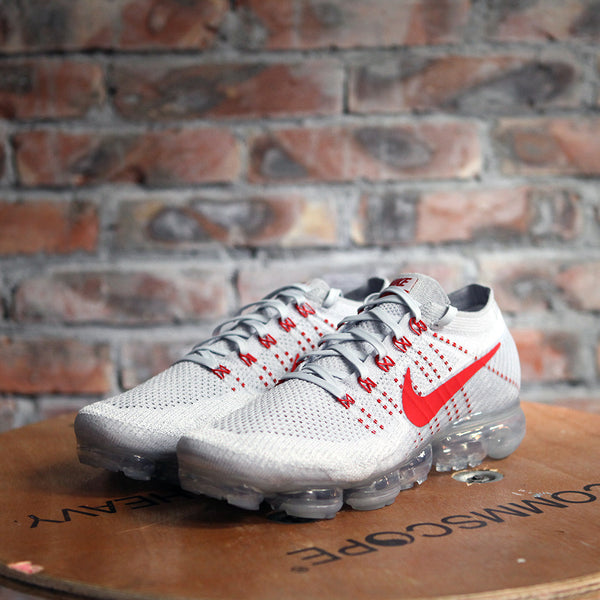 Nike Air VAPORMAX FLYKNIT - RED/PLATINUM