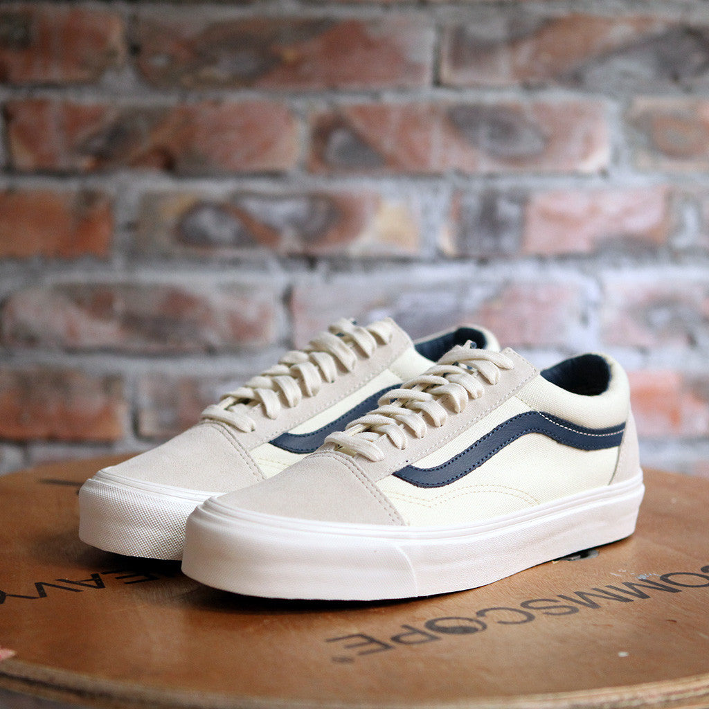 vans suede & canvas old skool beige
