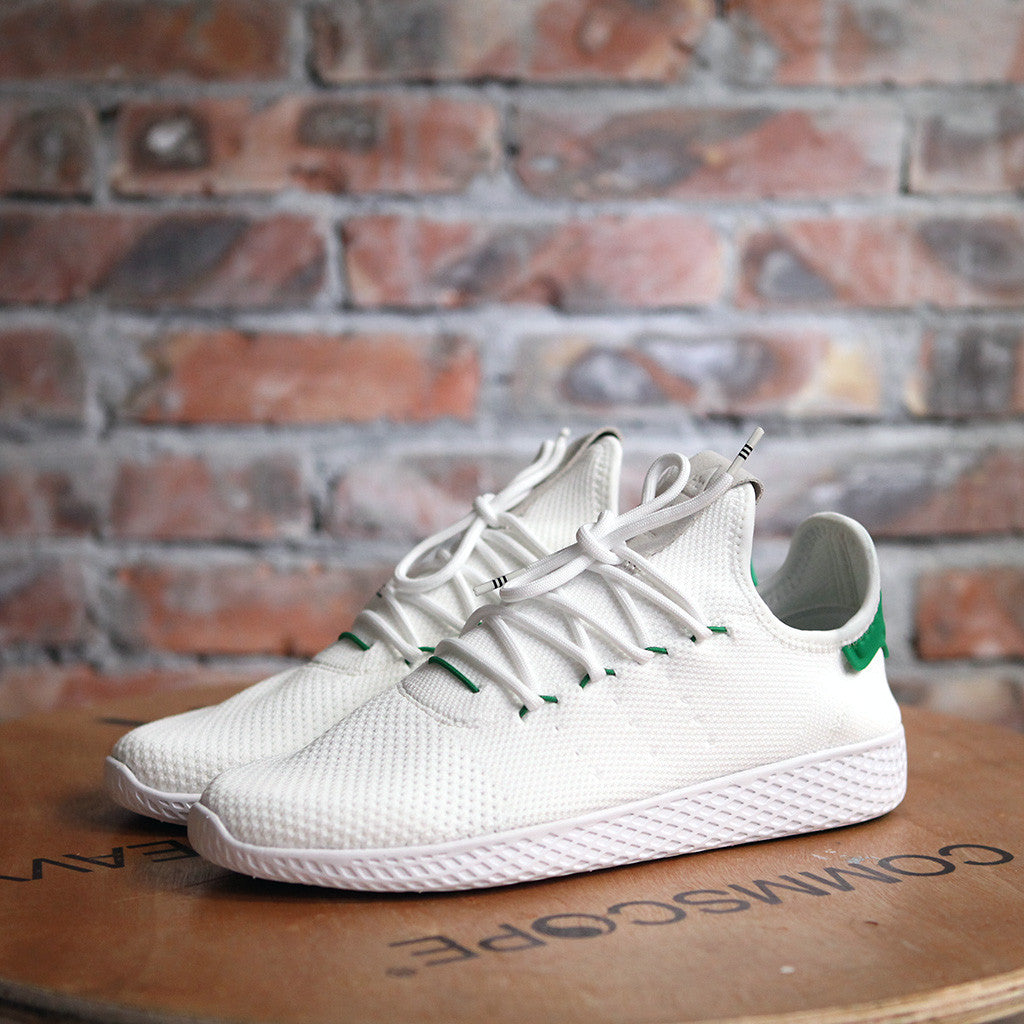 adidas Originals x PHARRELL WILLIAMS TENNIS HU - WHITE/GREEN