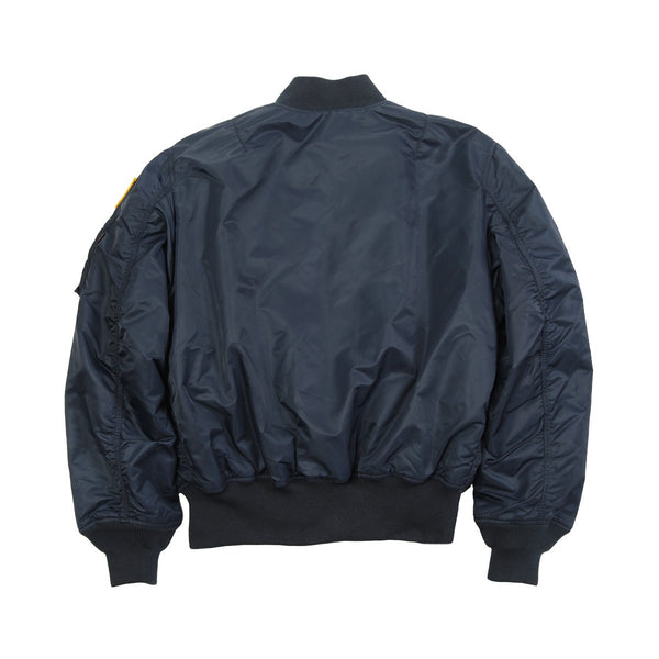 Alpha Industries NASA MA-1 Flight Jacket - Replica Blue