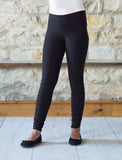 Warm Fleece Leggings - Navy