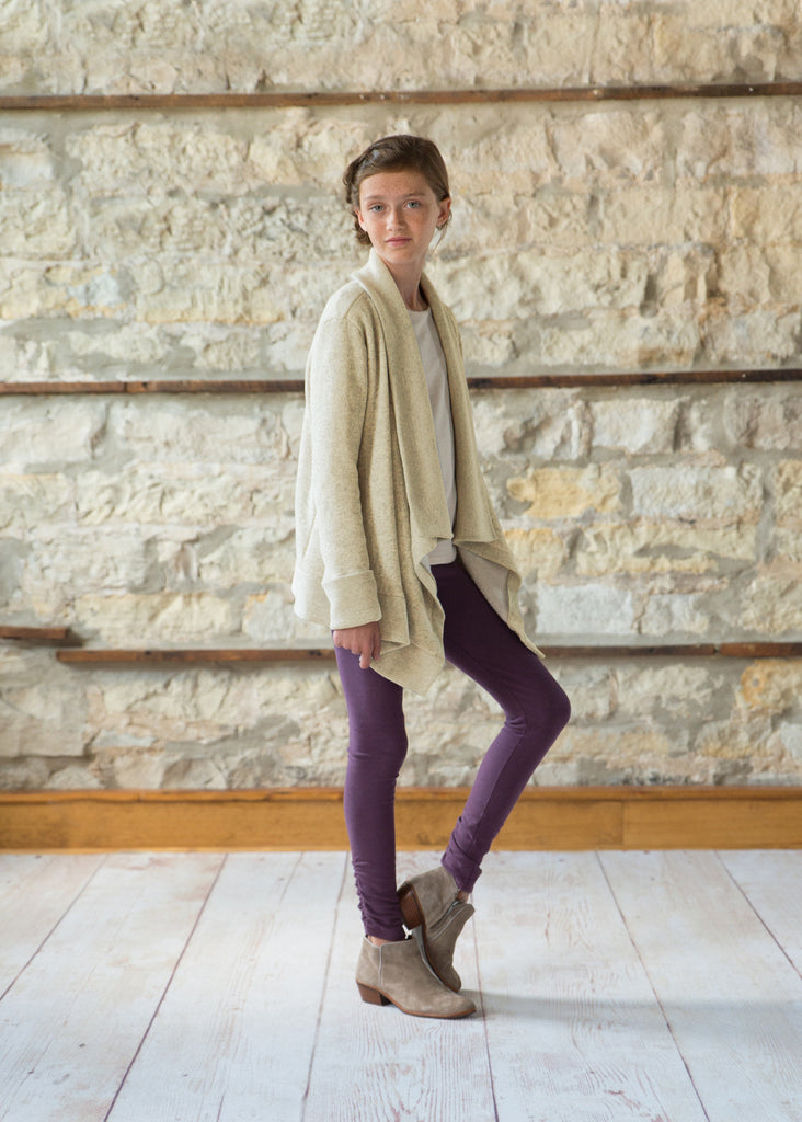 Wrap Cardigan - Oatmeal