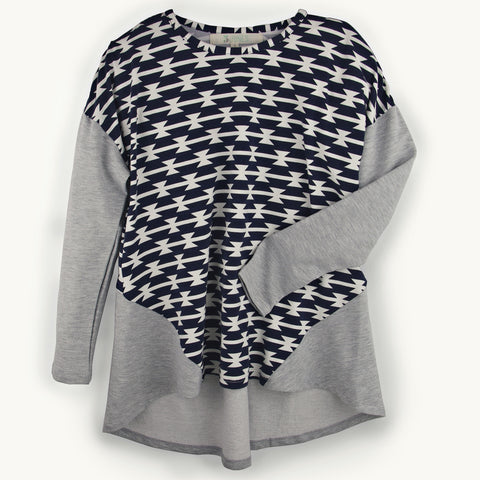Desert Spring Gathered Back Top