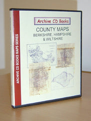 Image unavailable: Maps - Vol. 10 - Berkshire, Hampshire, Wiltshire