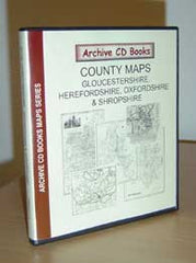 Image unavailable: Maps - Vol. 11 - Gloucestershire, Herefordshire, Oxfordshire, Shropshire
