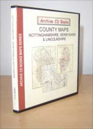 Maps - Vol. 6 - Nottinghamshire, Derbyshire & Lincolnshire