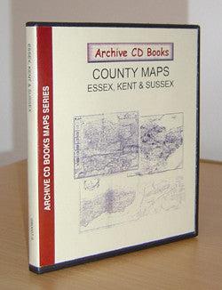 Maps - Vol. 9 - Essex, Kent, Sussex