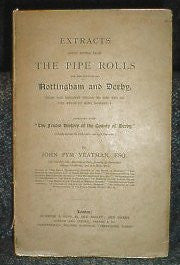 Nottinghamshire & Derbyshire - Pipe Rolls 1131-1307