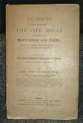 Image unavailable: Nottinghamshire & Derbyshire - Pipe Rolls 1131-1307