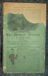 The Farmers' Almanac and Calendar for 1849