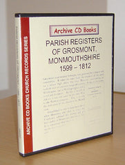 Image unavailable: Grosmont Parish Registers 1599-1812