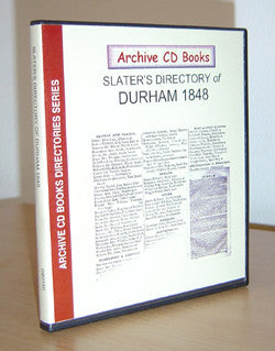 Durham 1848 Slater's Directory