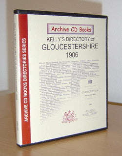 Gloucestershire 1906 Kelly's Directory