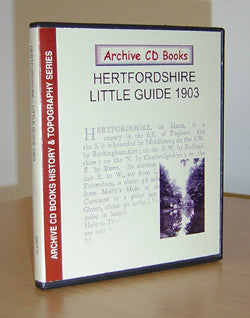 Hertfordshire - Little Guide 1903