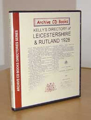 Image unavailable: Leicestershire & Rutland 1928 Kelly's Directory