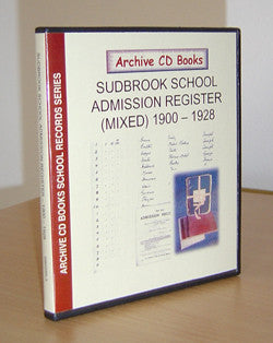 Sudbrook School (Mixed) 1900-1928 Admission Register