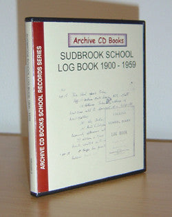 Sudbrook School 1900-1959 Log Book