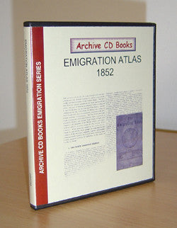 Emigration Atlas 1852