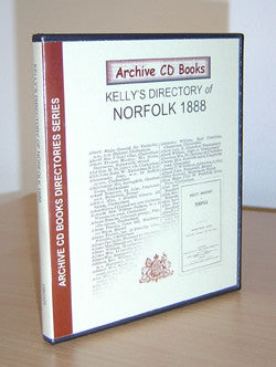 Norfolk 1888 Kelly's Directory
