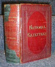 National Gazetteer of the United States 1884