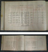 Newport Pagnell Vaccination Register 1909-1927
