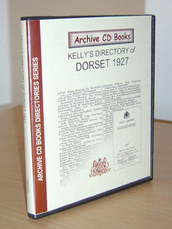 Kelly's 1927 Directory of Dorsetshire