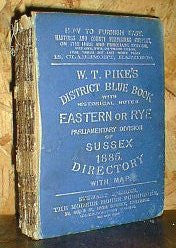 Eastern Sussex 1885 District Blue Book