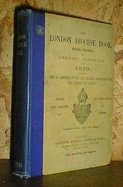 The London Diocese Book 1890