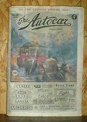 Image unavailable: The Autocar. March 16 1923