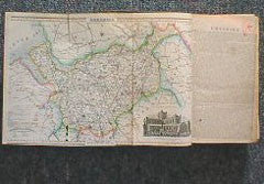 Image unavailable: Cheshire 1855 Slater's Directory (with map)