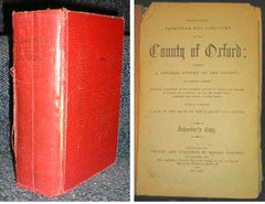Image unavailable: Gardner's History, Gazetteer & Directory of the County of Oxford 1852