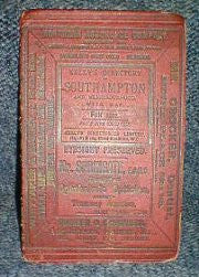 Southampton and Neighbourhood 1902 Kelly's Directory