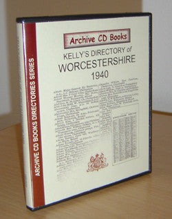 Kelly's 1940 Directory of Worcestershire