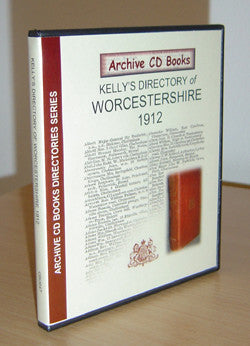 Kelly's 1912 Directory of Worcestershire