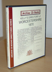 Image unavailable: Kelly's 1870 (Post Office) Directory of Worcestershire