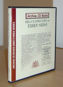 Essex 1925-6 Kelly's Directory