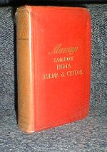 Murray's Handbook- India, Burma and Ceylon 1933