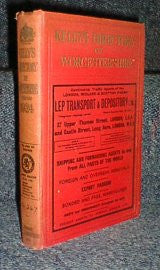 Kelly's 1924 Directory of Worcestershire