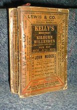 Image unavailable: Kelly's 1936 Directory of Kilburn, Willesden, Cricklewood & Harlesden &c