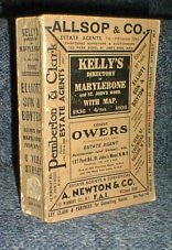 Image unavailable: Kelly's 1936 Directory of Marylebone & St John's Wood