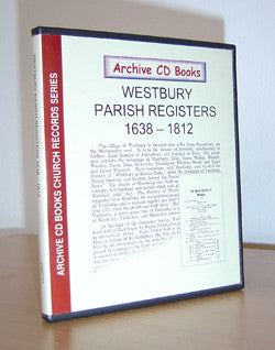 Westbury Parish Registers 1638-1812