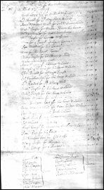 A Rent Roll - Presteigne 1705