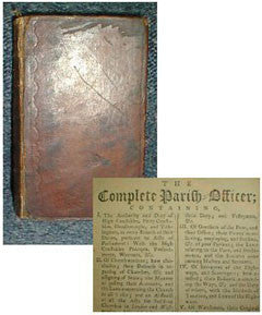 The Complete Parish Officer 1772