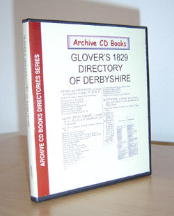 Glover's 1829 Directory of Derbyshire