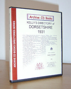 Kelly's Directory of Dorsetshire 1931 (with map)