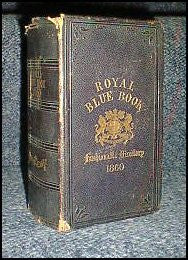 London Royal Blue Book 1860
