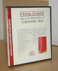 Image unavailable: Kelly's 1934 Directory of Cheshire